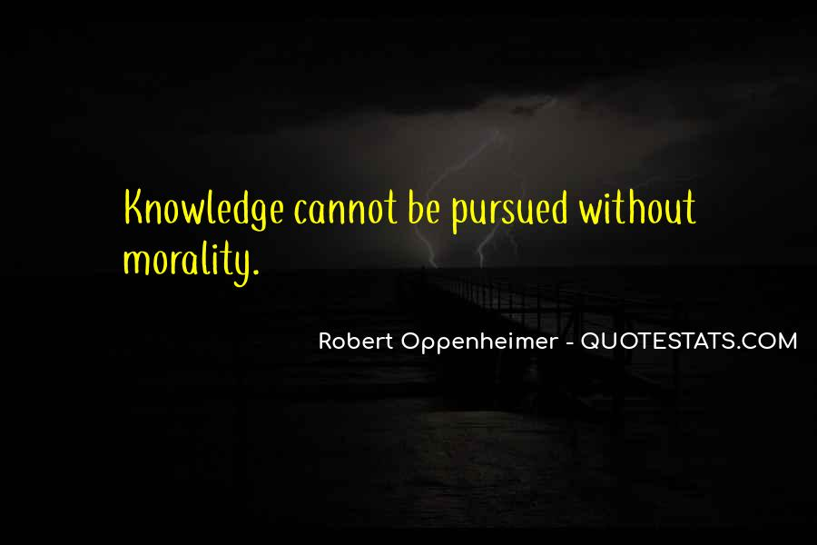 Quotes About Oppenheimer #726900