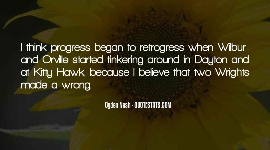 Retrogress Quotes #1249720
