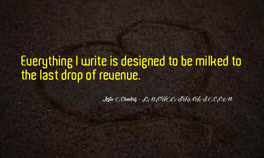 Revenue's Quotes #130301