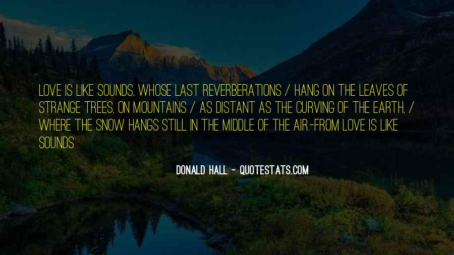 Reverberations Quotes #127997