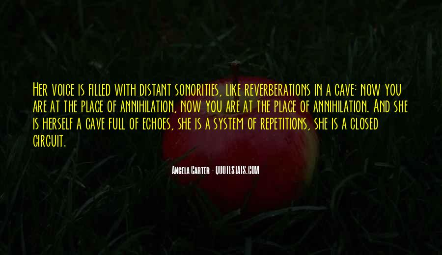 Reverberations Quotes #7929