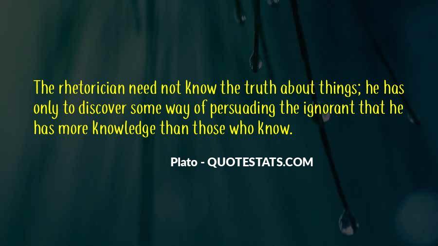 Rhetorician's Quotes #293160