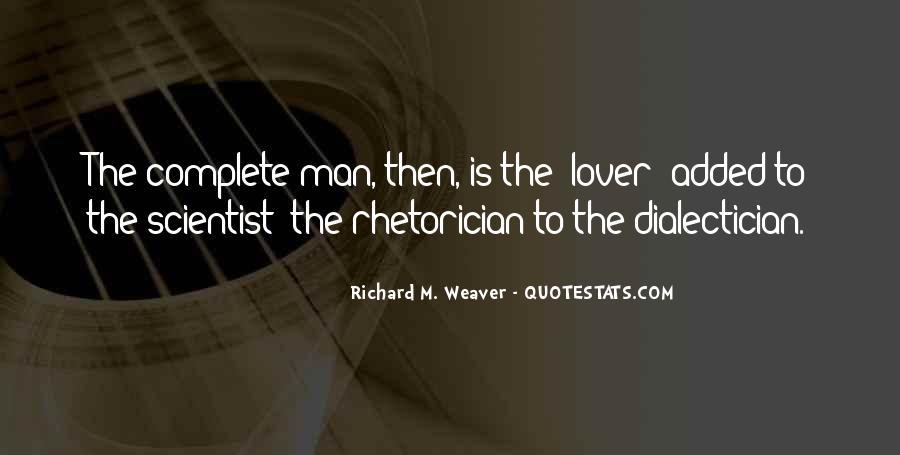 Rhetorician's Quotes #630429
