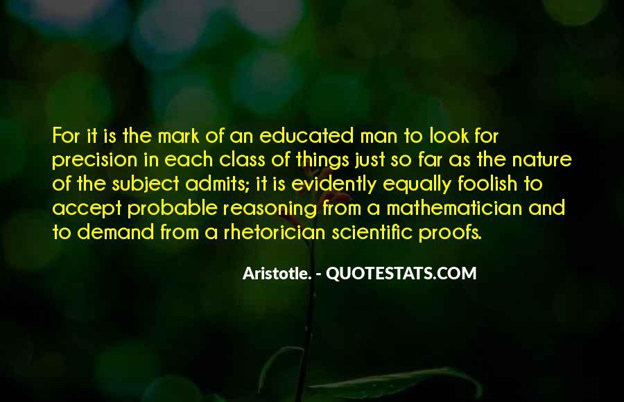 Rhetorician's Quotes #714300