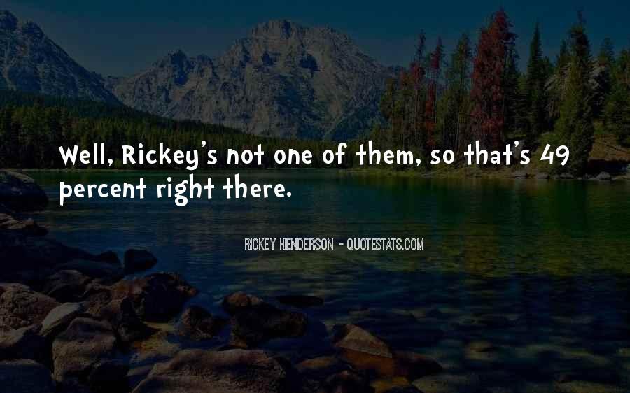 Rickey's Quotes #15398