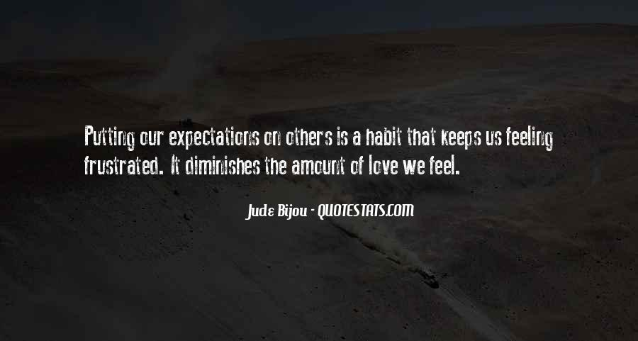 Quotes About Expectations Of Others #1201156