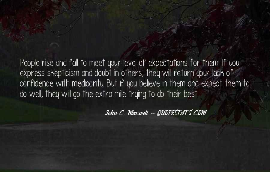 Quotes About Expectations Of Others #1331548