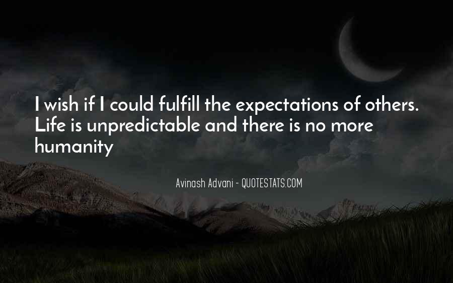 Quotes About Expectations Of Others #208548