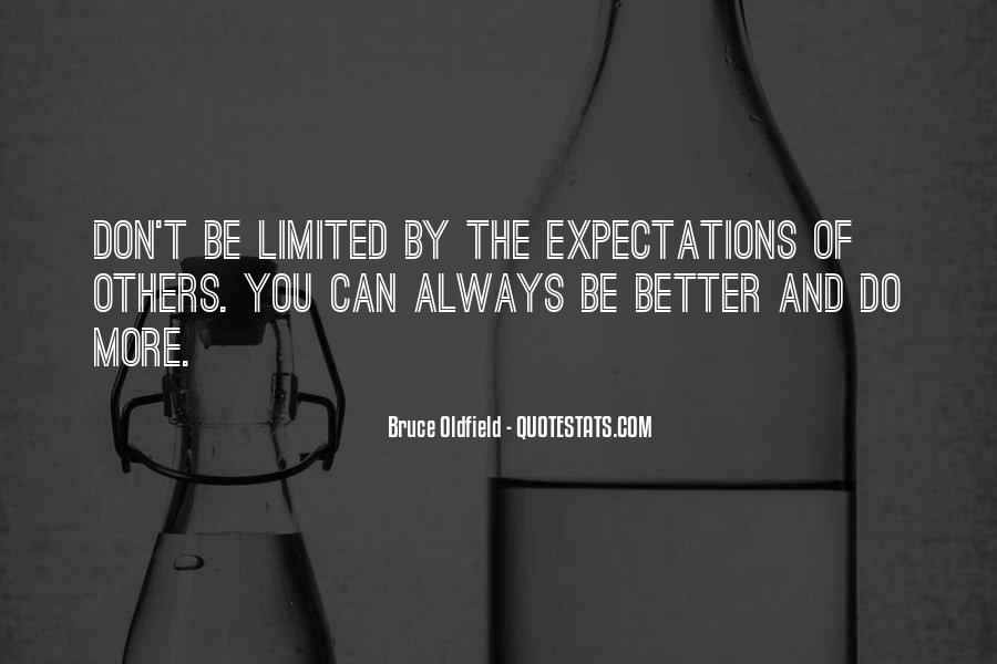 Quotes About Expectations Of Others #659580