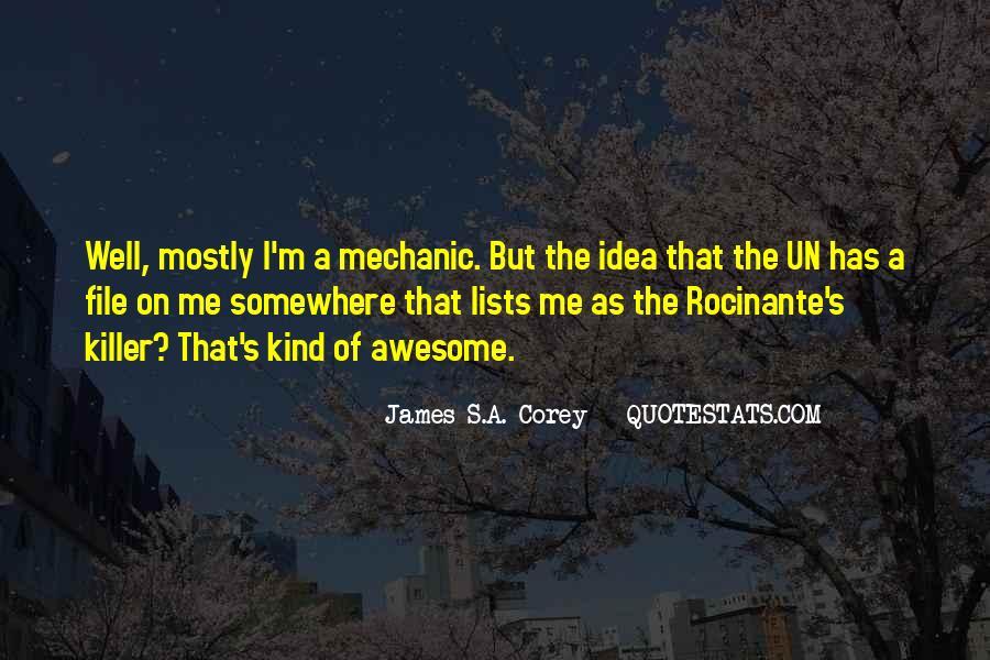 Rocinante's Quotes #1480447