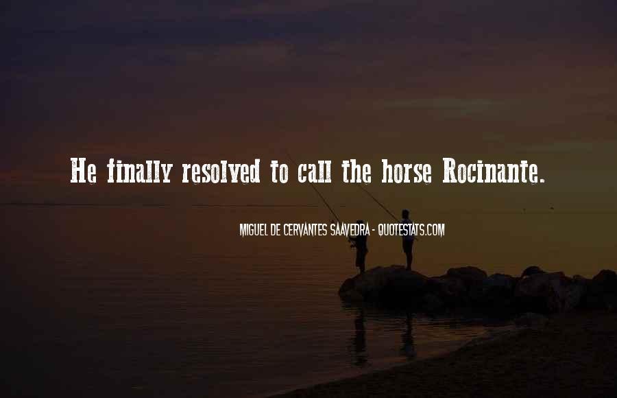 Rocinante's Quotes #1540158