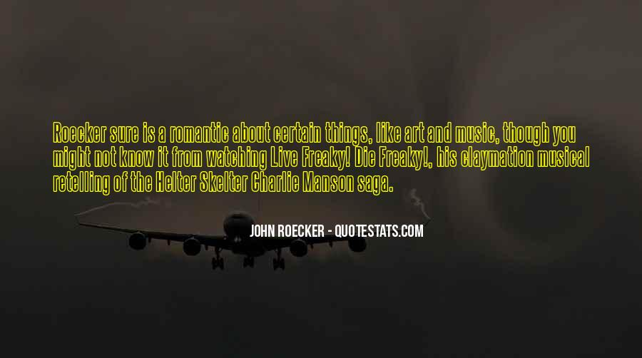 Roecker Quotes #992681