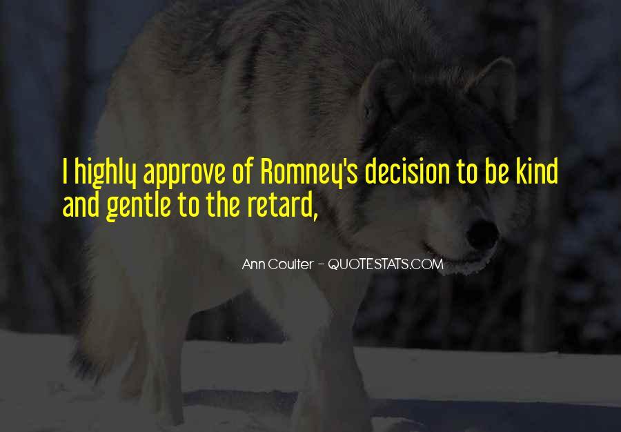 Romney's Quotes #153358