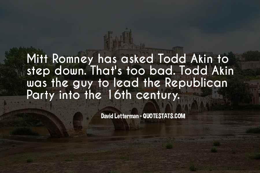 Romney's Quotes #184513