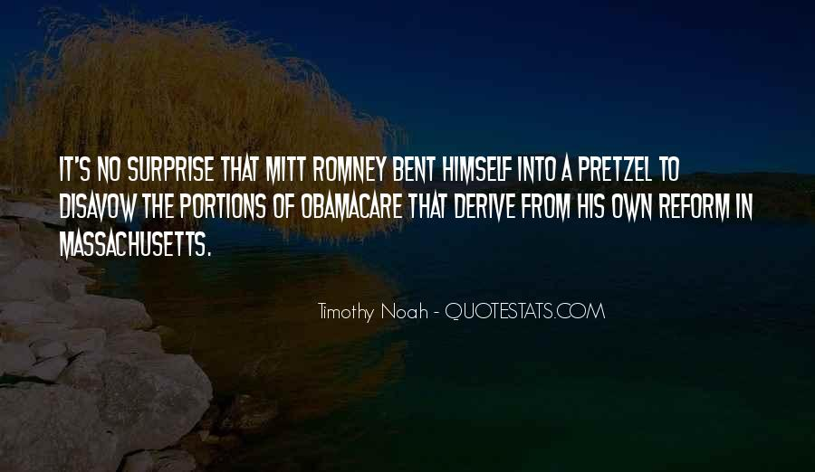 Romney's Quotes #434191