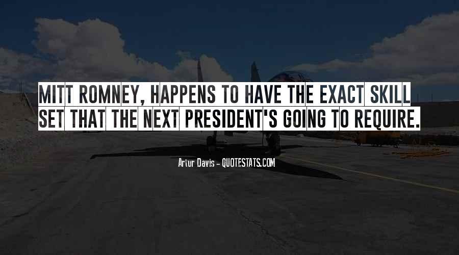 Romney's Quotes #507291