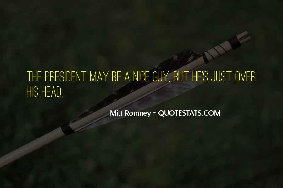 Romney's Quotes #529012