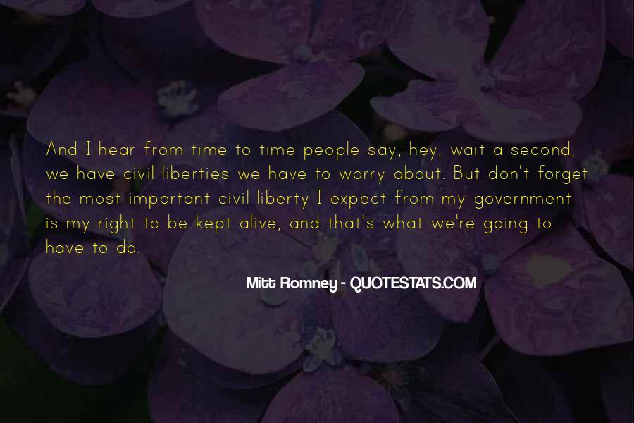 Romney's Quotes #575922