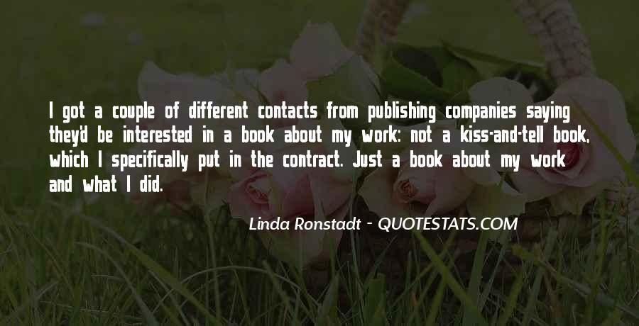 Ronstadt Quotes #1173406