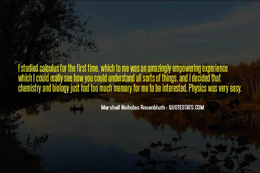 Rosenbluth Quotes #1307439