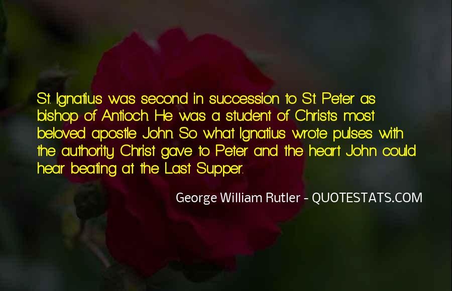 Quotes About Peter The Apostle #1620814