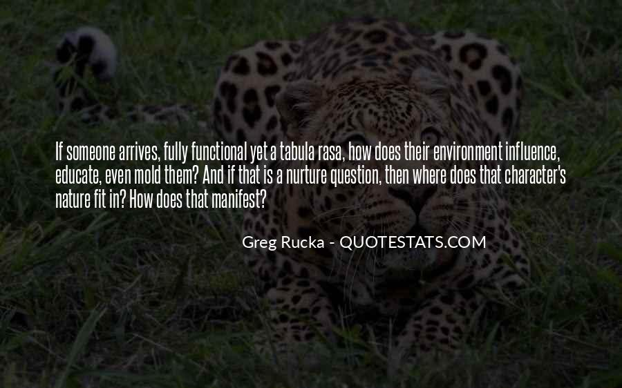Rucka Quotes #1077085