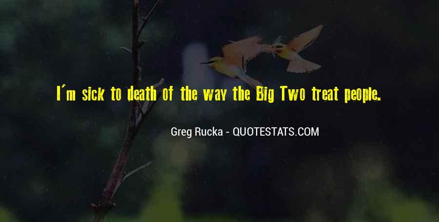 Rucka Quotes #1395054
