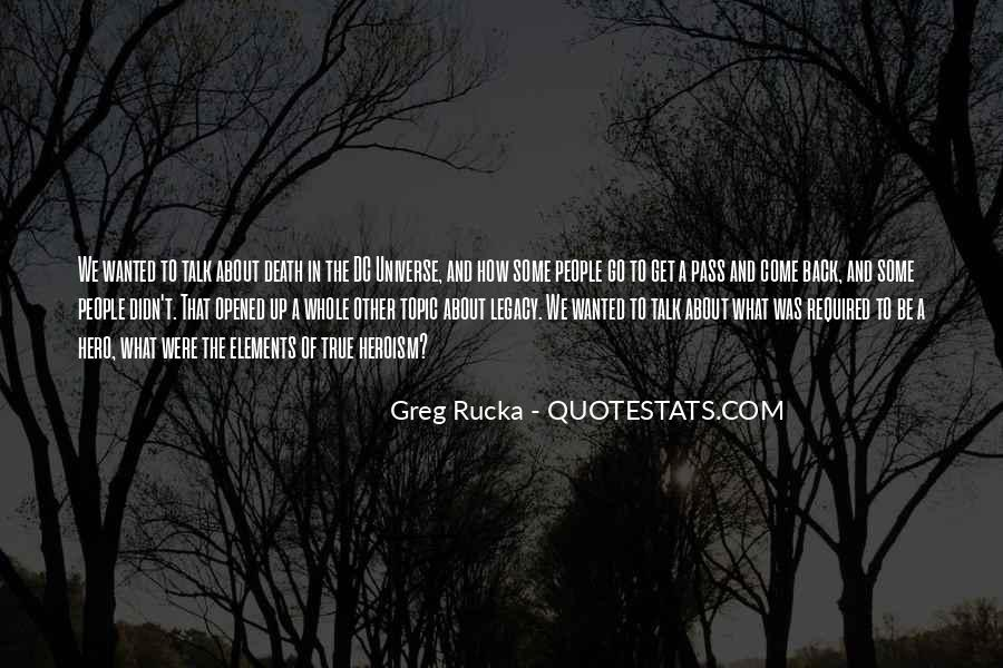 Rucka Quotes #1410435