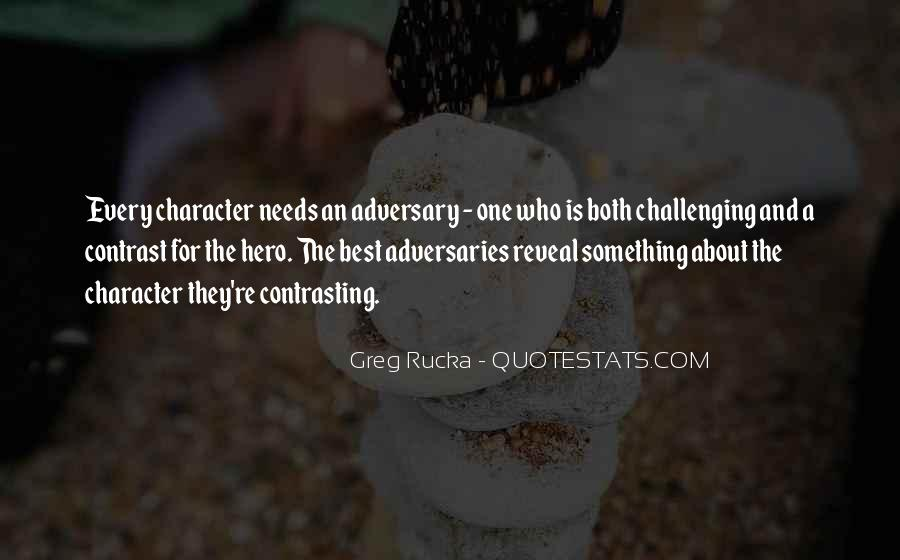 Rucka Quotes #1422305