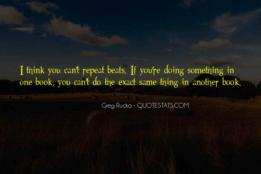 Rucka Quotes #142286