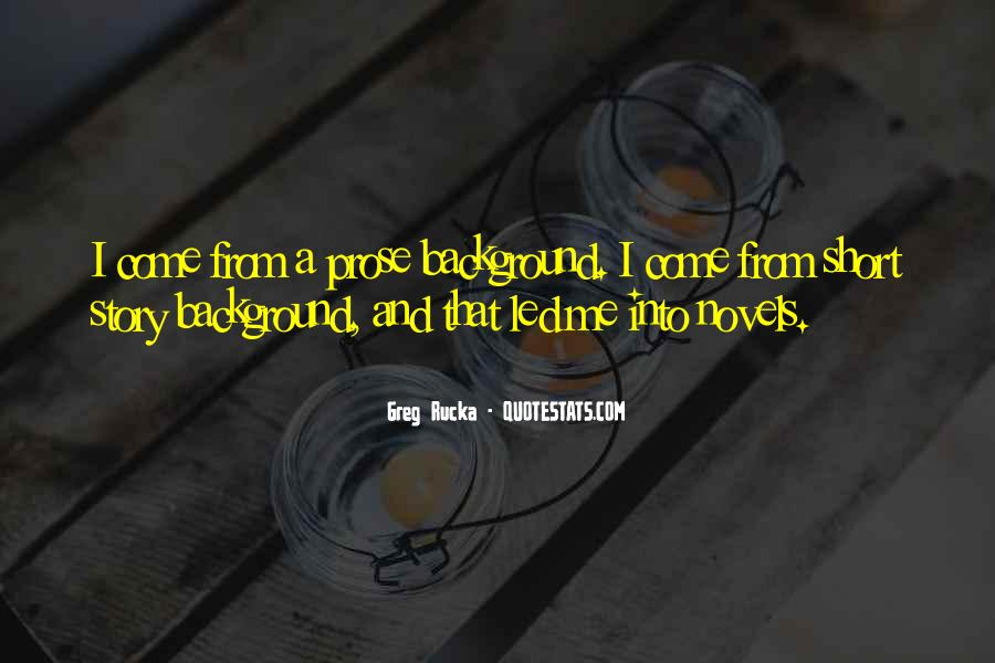Rucka Quotes #1546302
