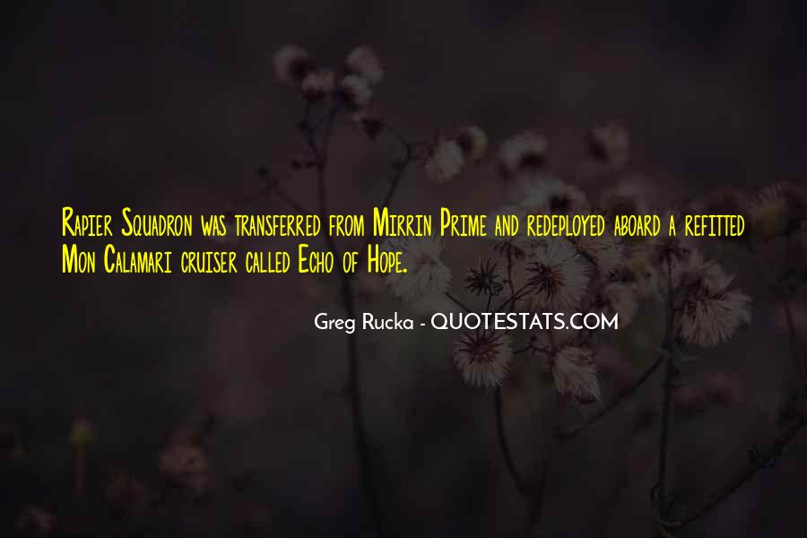 Rucka Quotes #184968