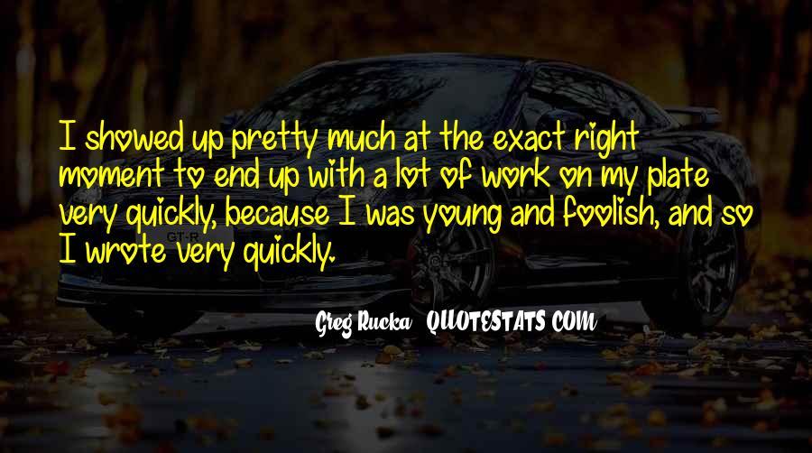 Rucka Quotes #472102