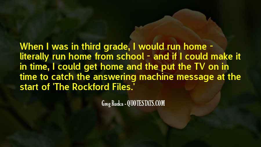 Rucka Quotes #536974