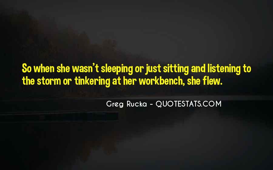 Rucka Quotes #545206