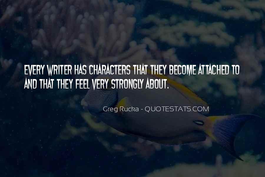 Rucka Quotes #565169