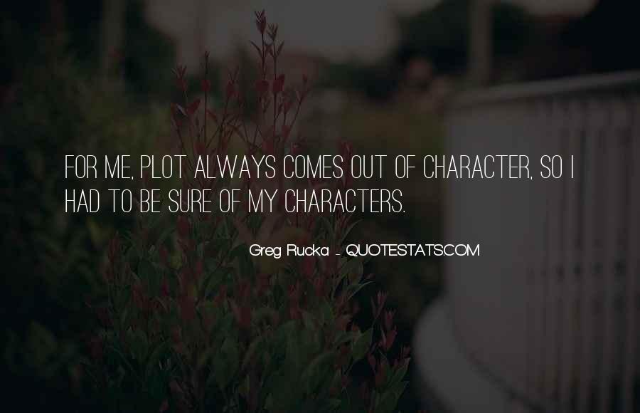 Rucka Quotes #716401