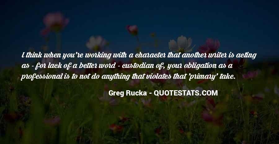 Rucka Quotes #882341