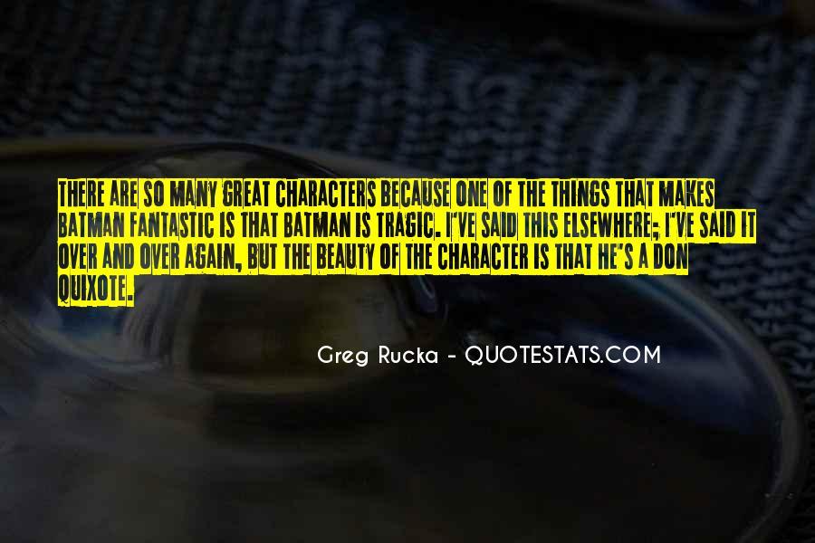 Rucka Quotes #883496