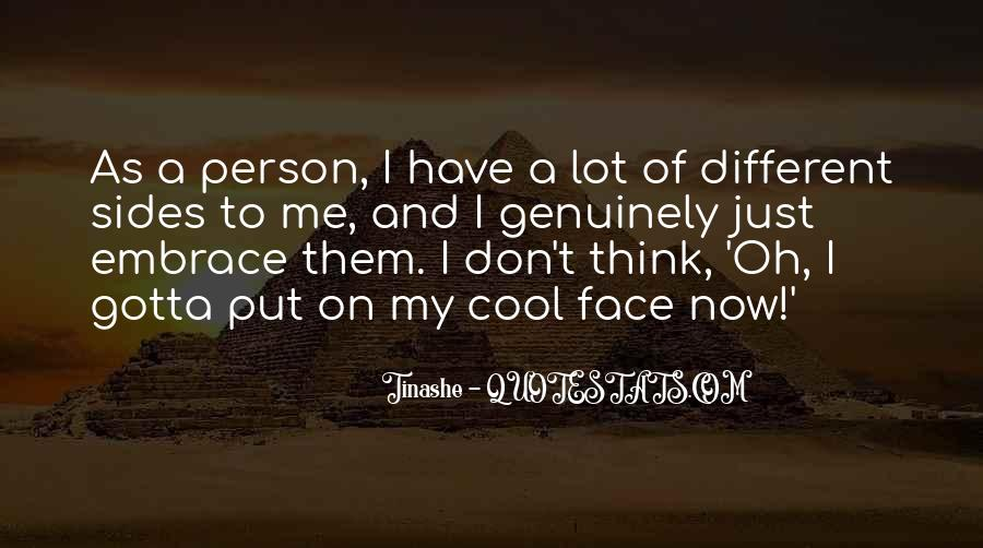 Quotes About Me Cool #74841
