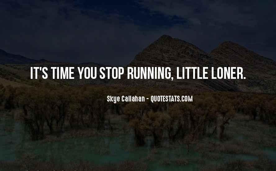 Running's Quotes #3249