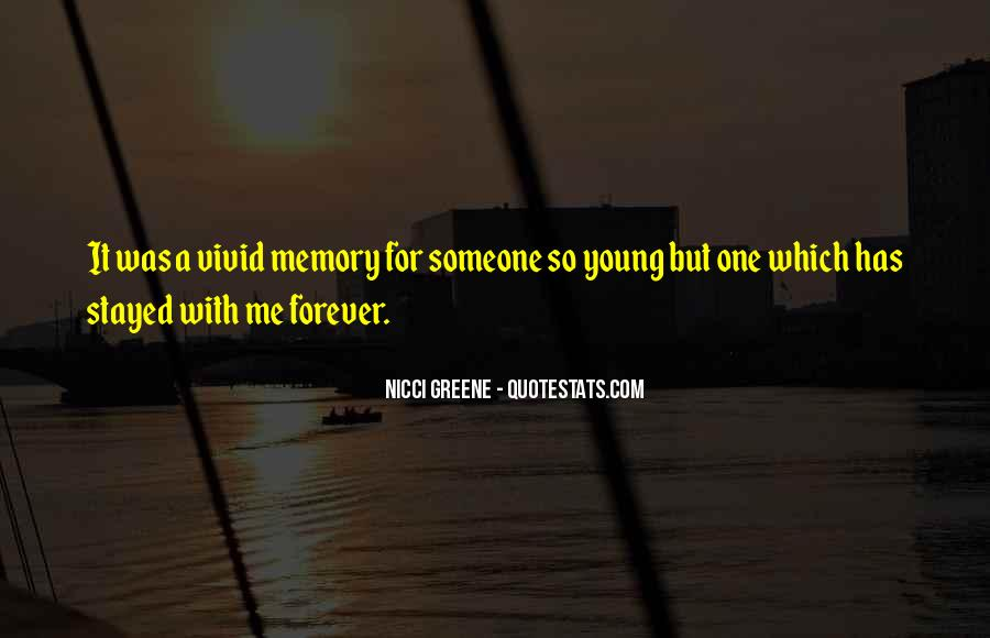 Quotes About Forever Young #131535