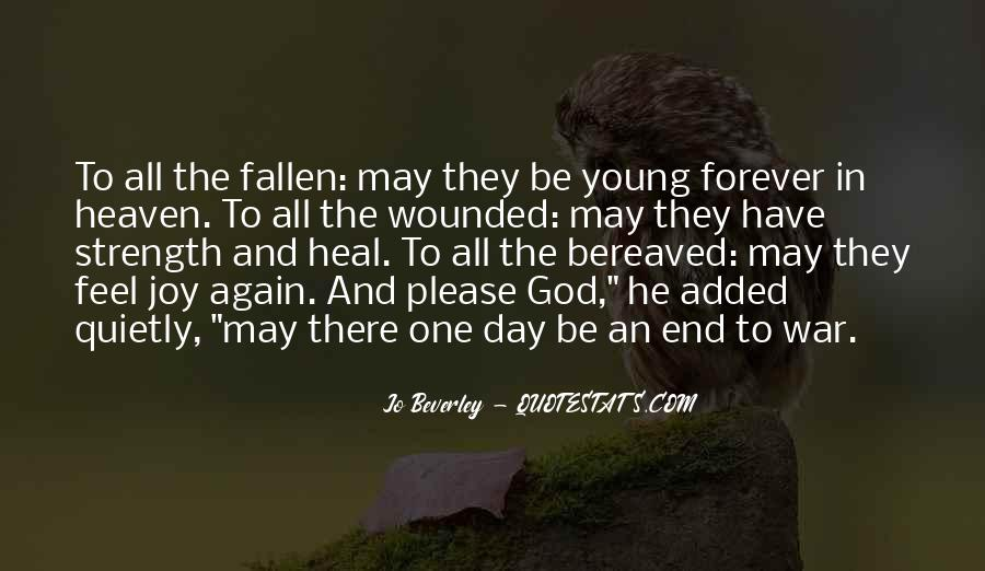 Quotes About Forever Young #40978