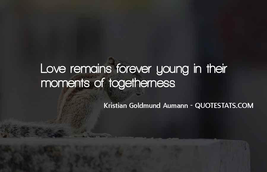 Quotes About Forever Young #418078