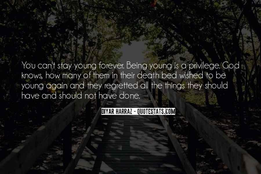 Quotes About Forever Young #44772