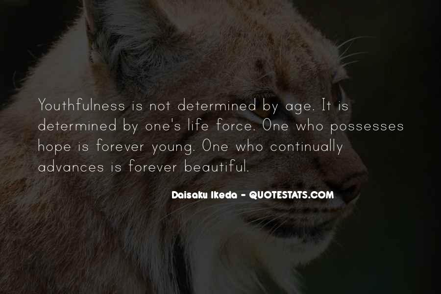 Quotes About Forever Young #520226