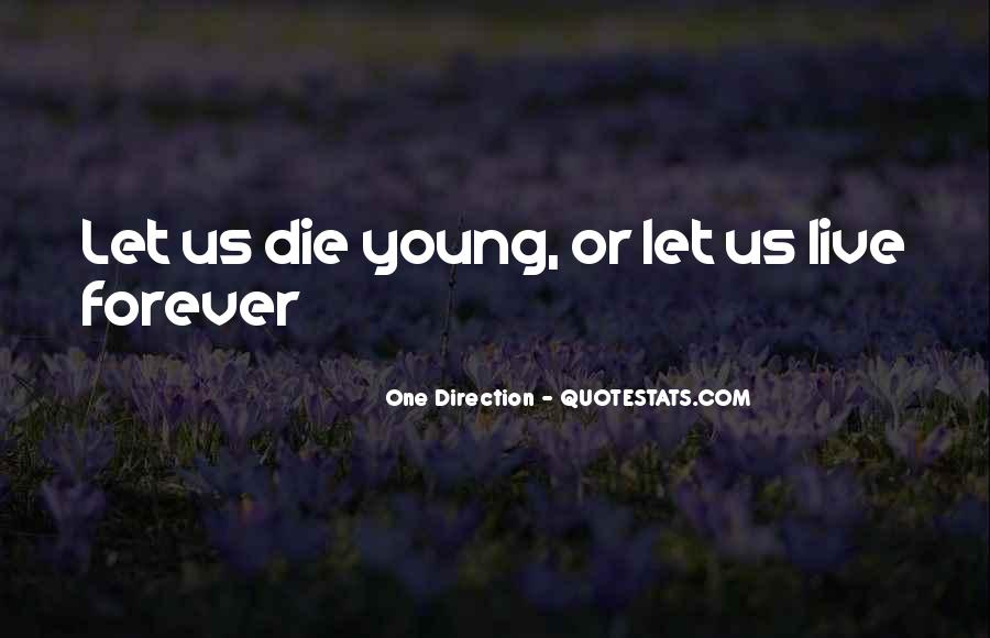 Quotes About Forever Young #531158