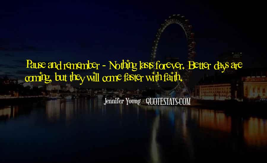 Quotes About Forever Young #58783