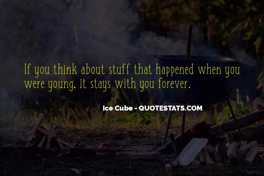 Quotes About Forever Young #732541