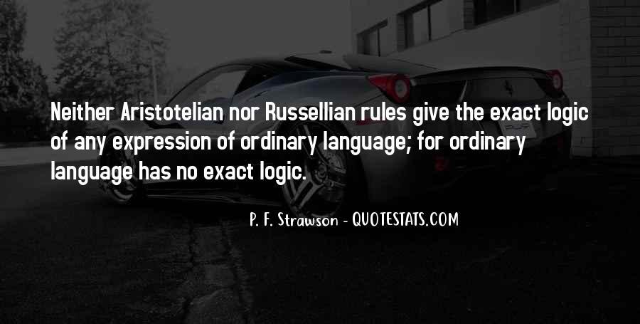 Russellian Quotes #295013